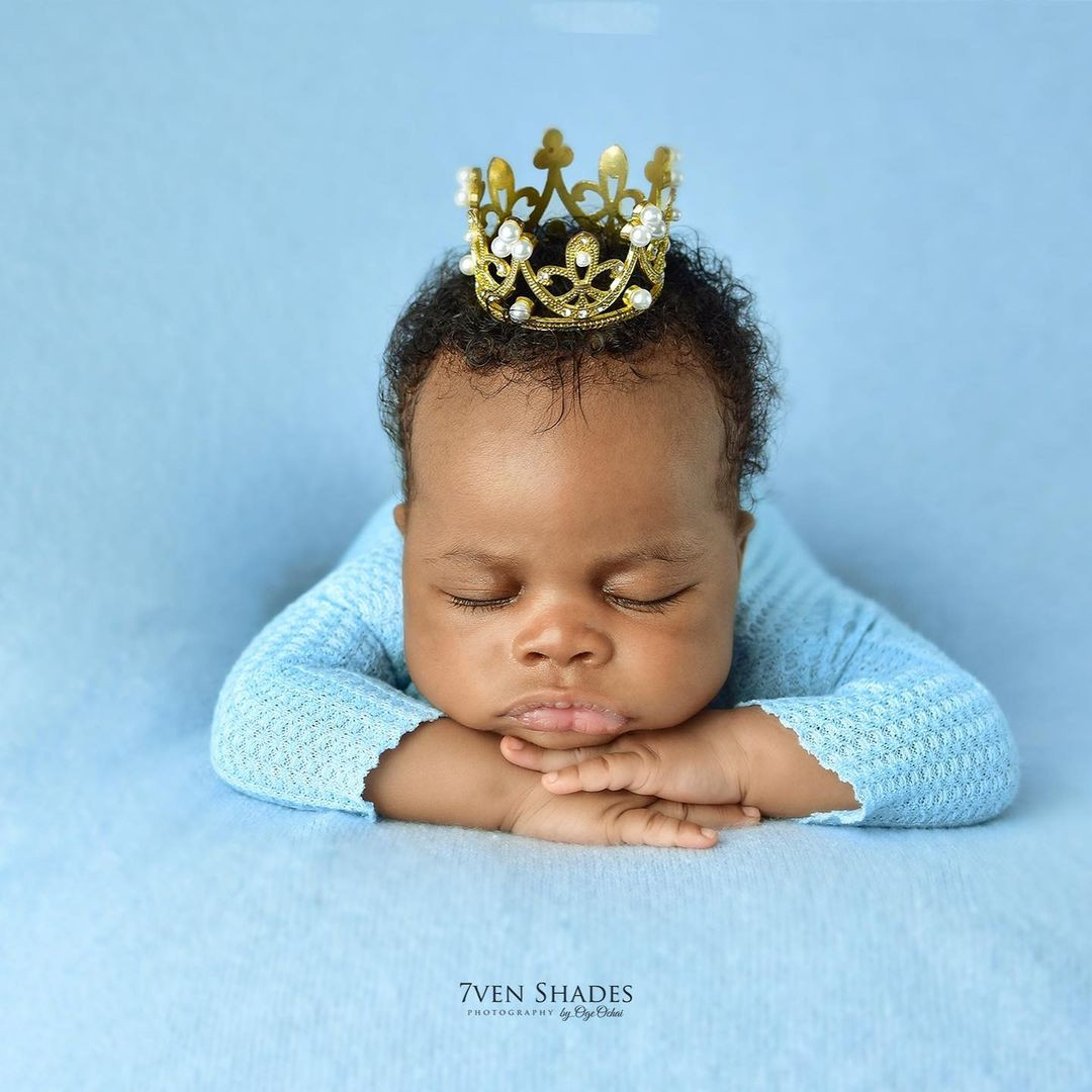 Actor Gideon Okeke and wife welcome second son  (photos)