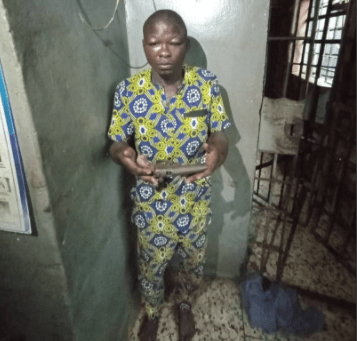 Armed robbery suspect arrested in Lagos, gun recovered from him
