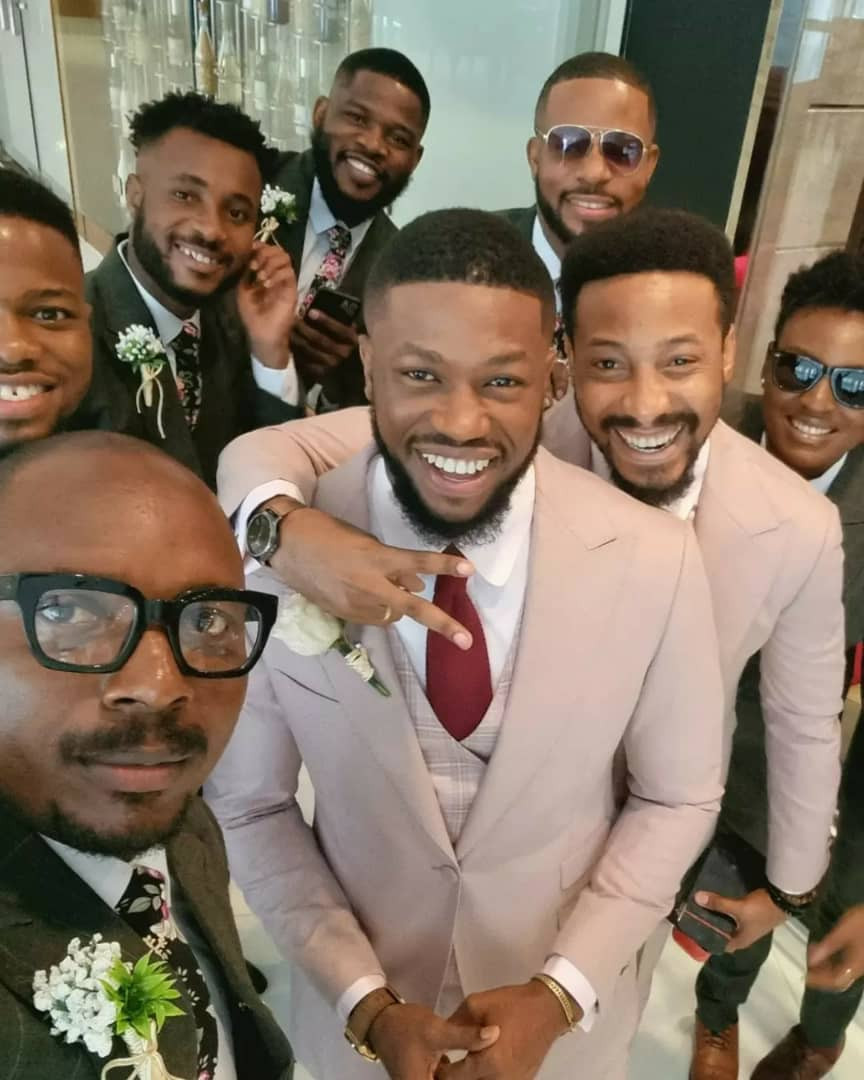 613d14afc195f - Photos and videos from the wedding of actors Stan Nze and Blessing Obasi
