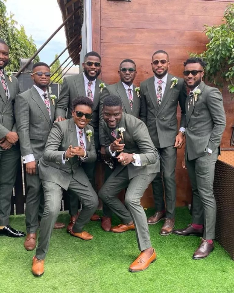 613d14c639392 - Photos and videos from the wedding of actors Stan Nze and Blessing Obasi