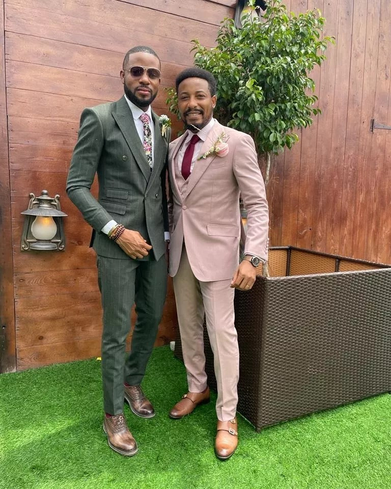 613d14d9b0ce9 - Photos and videos from the wedding of actors Stan Nze and Blessing Obasi
