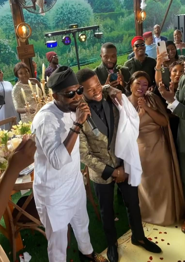 613d14ebc0929 - Photos and videos from the wedding of actors Stan Nze and Blessing Obasi