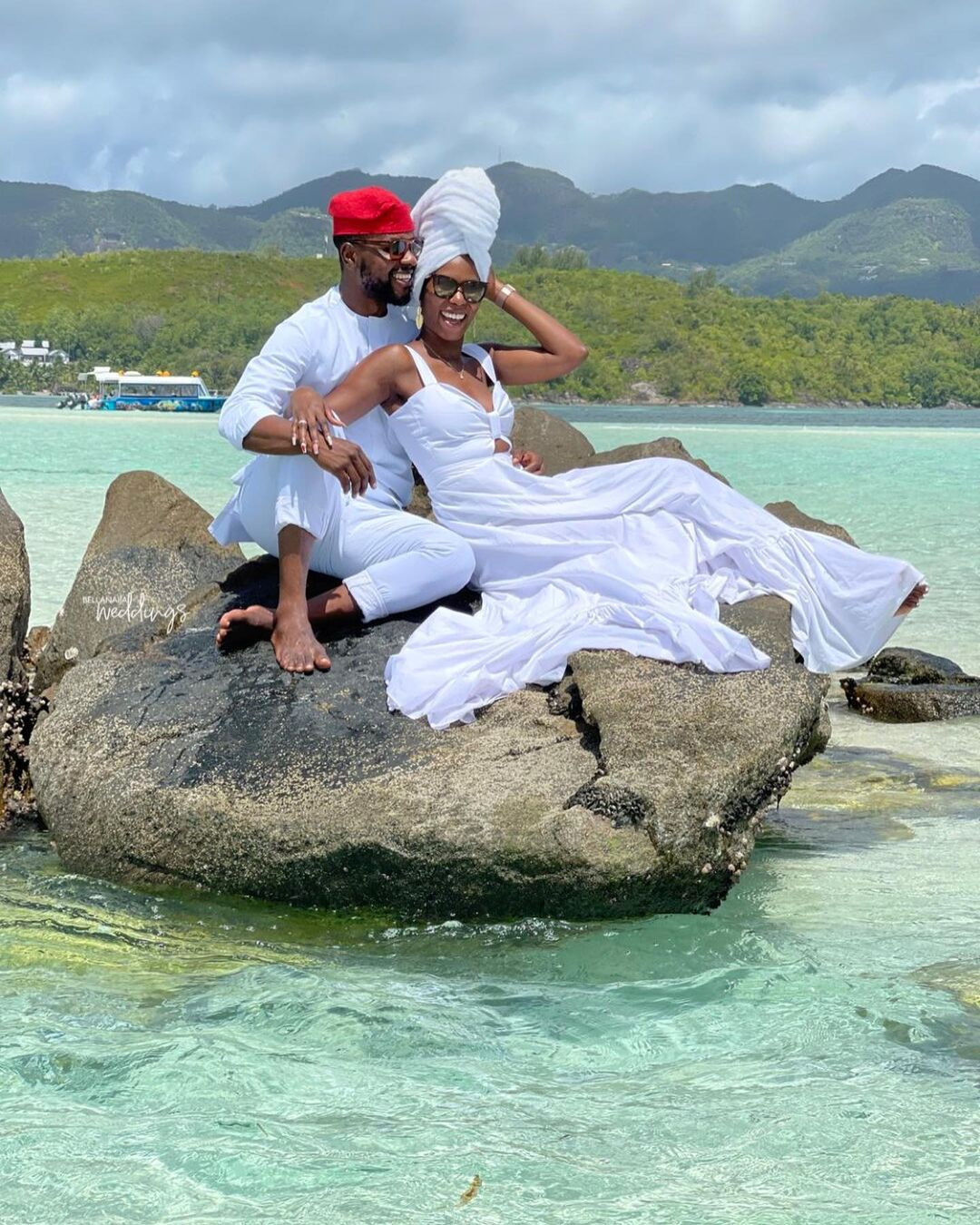 61409179865b0 - Media personality, Debola Williams and wife spend their honeymoon in Seychelles