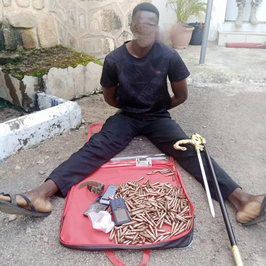 Serving police traffic warden arrested, one dead as troops intercept 370 rounds of ammunition in Jos
