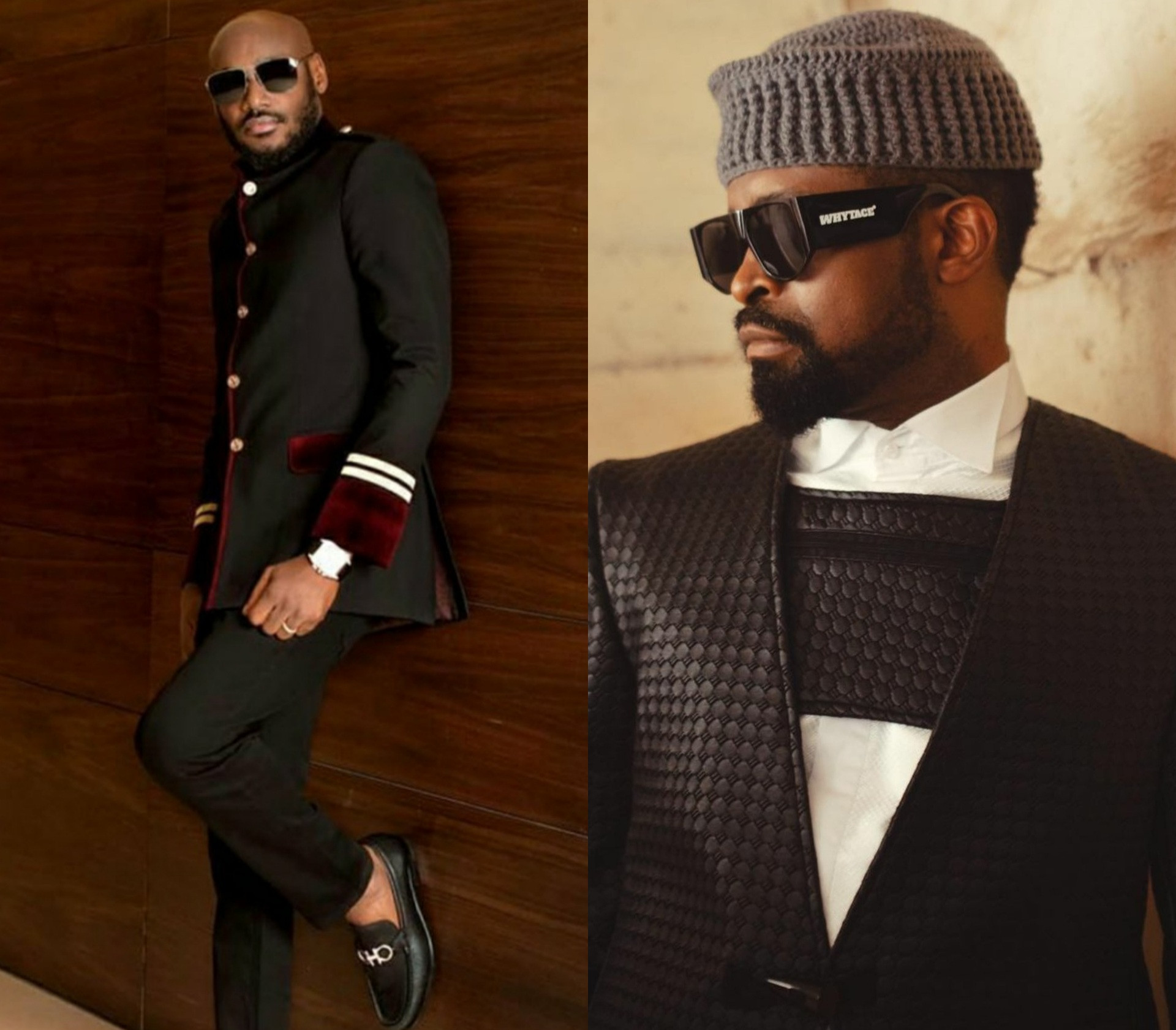 614630e16ddbb - Hilarious bant between comedian Basketmouth and singer 2face Idibia