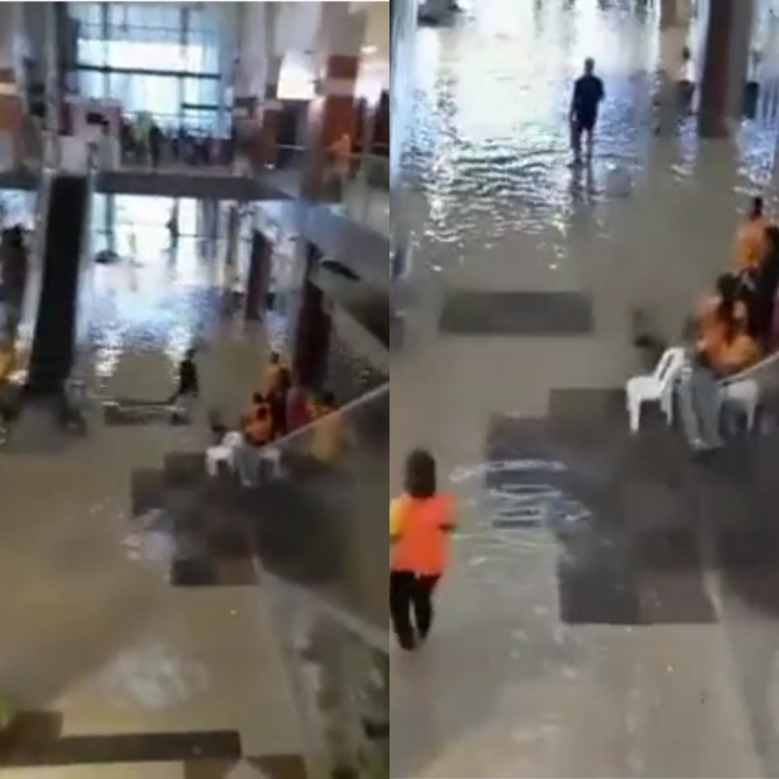 614a28c20b88d - Port Harcourt Mall flooded after heavy rainfall (video)