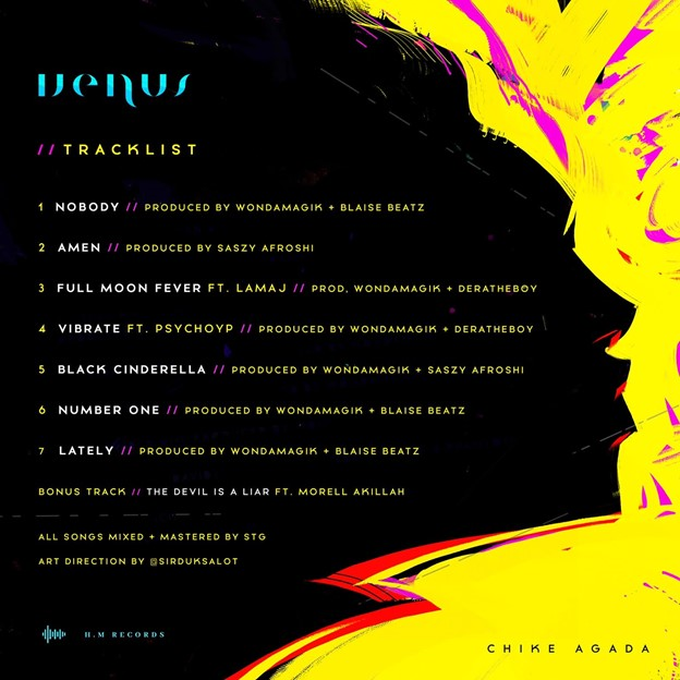 """Picture1 1 - Chike Agada Drops Highly Anticipated EP, """"VENUS"""" « tooXclusive"""