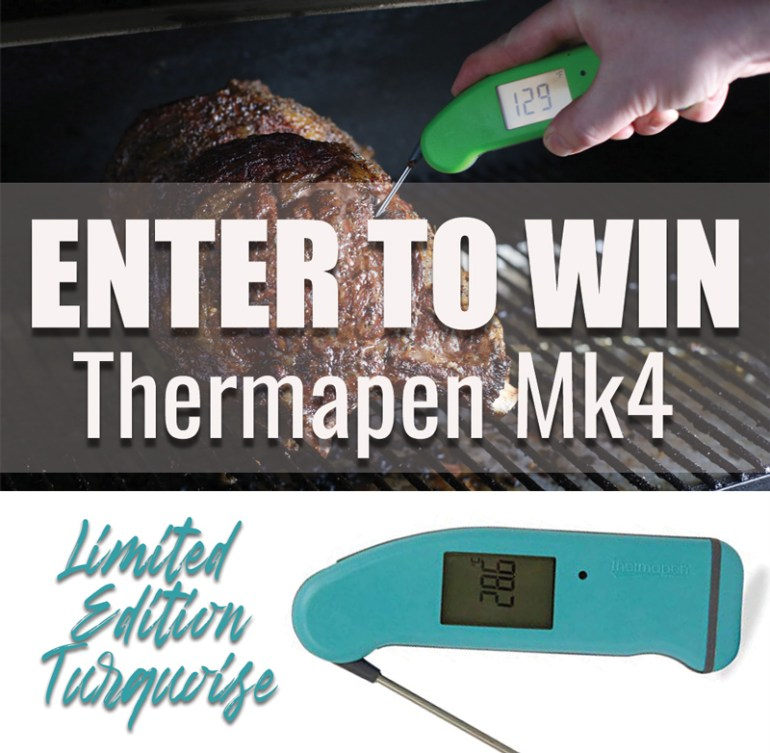 Thermapen Giveaway