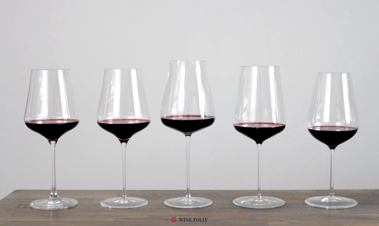 Wine glasses review of Crystal glasses by Gabriel-Glas, Zalto, Zwiesel, and Richard Brendon