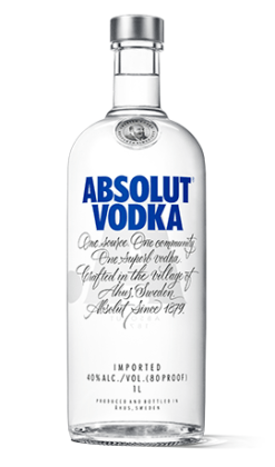 Absolut-vodka-list-of-alcoholic-drinks-in-Nigeria-naijawinelovers
