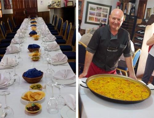 Final lunch in Spain
