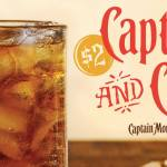 Applebee's is Selling $2 Rum and Cokes All January