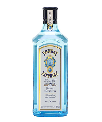 Bombay Sapphire is one of the best gins for 2019