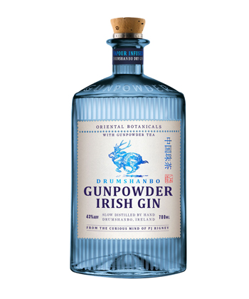 Gunpowder Irish Gin is one of the best gins for 2019