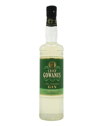New York Distilling Company Chief Gowanus is one of the best barrel-aged gins