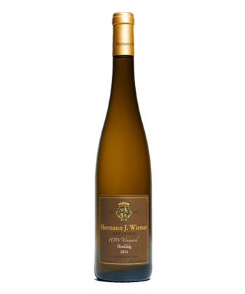 Hermann J. Weimer is one of the best Rieslings for people who think they hate Riesling