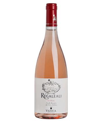 Tasca d'Almerita Tenuta Regaleali Le Rose Sicilia IGT is one of the top 25 rosés of 2020.