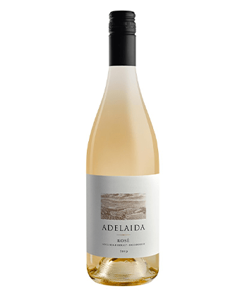 Adelaida Rosé 2019 is one of the top 25 rosés of 2020.