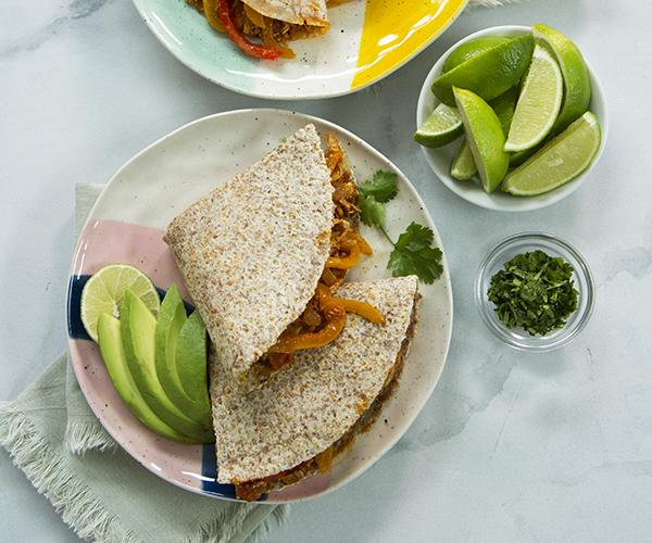 Chicken-and-Veggie-Quesadilla