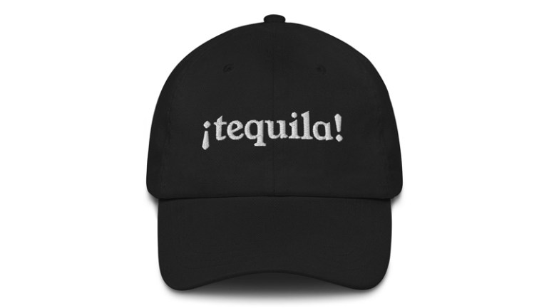 Best Tequila Embroidered Hat