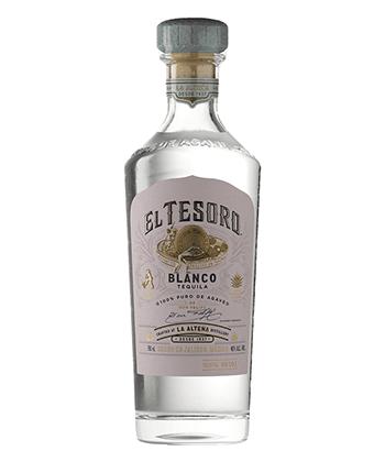 El Tesoro Blanco is one of the 30 best tequilas of 2020.