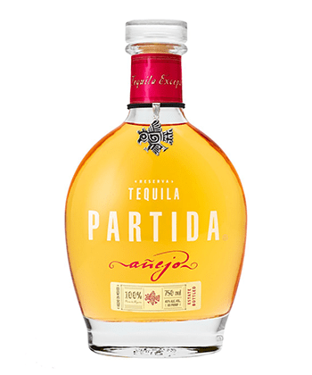 Partida Añejo is one of the 30 best tequilas of 2020.