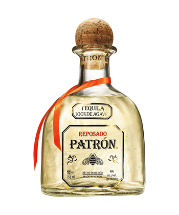 Patron Reposado is one of the 30 best tequilas of 2020.
