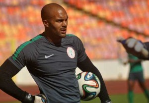 Safe pair of hands: Ikeme provides solid competition to Enyeama