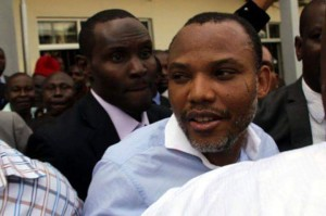 Kanu arriving in court