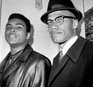 Ali with Malcolm during the good times