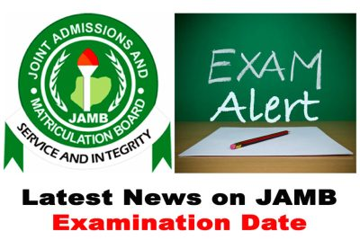 Latest News on the 2021 JAMB CBT Examination Date