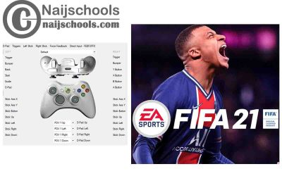 FIFA 21 X360ce Settings for Any PC Gamepad Controller   TESTED & WORKING