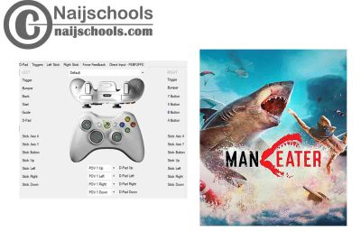 Maneater X360ce Settings for Any PC Gamepad Controller   TESTED & WORKING