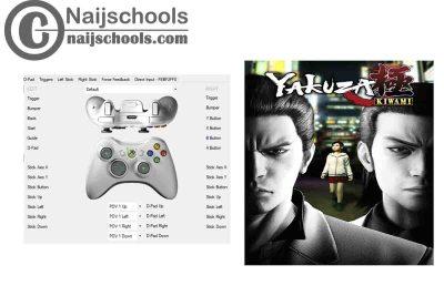 Yakuza Kiwami X360ce Settings for Any PC Gamepad Controller   TESTED & WORKING