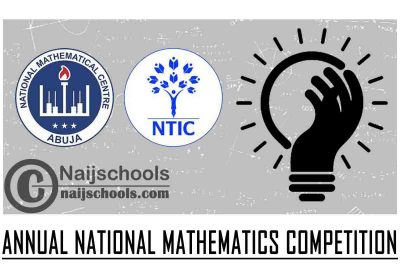 NTIC/NMC 18th Annual National Mathematics Competition (ANMC) 2021 for Primary School 5 & 6 Students | APPLY NOW