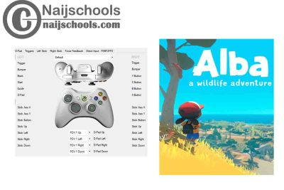 Alba: A Wildlife Adventure X360ce Settings for Any PC Gamepad Controller | TESTED & WORKING