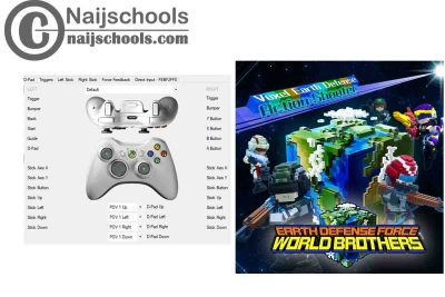 Earth Defense Force: World Brothers X360ce Settings forAny PC Gamepad Controller | TESTED & WORKING