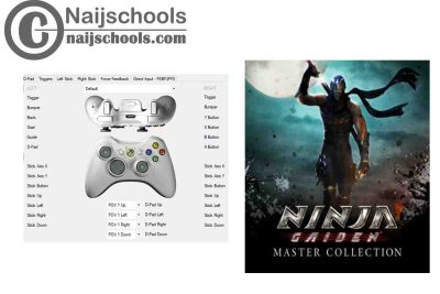 Ninja Gaiden: Master Collection X360ce Settings for Any PC Gamepad Controller | TESTED & WORKING