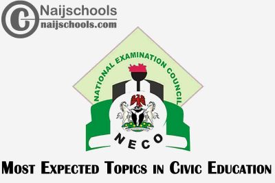 Most Expected Topics in 2021 NECO Civic Education SSCE & GCE | CHECK NOW