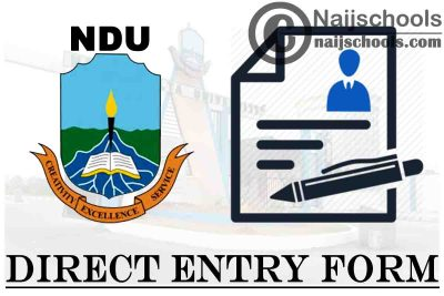 Niger Delta University (NDU) Direct Entry Screening Form for 2021/2022 Academic Session   APPLY NOW