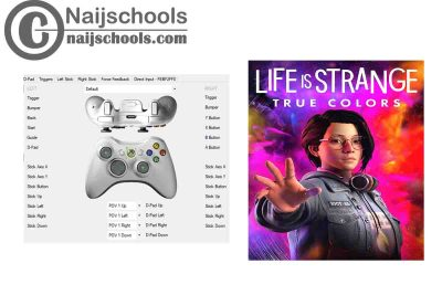 Life is Strange: True Colors X360ce Settings for Any PC Gamepad Controller   TESTED & WORKING