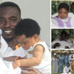 Justice Mmebusem Shares More Adorable Photos Of His Twins And Wife