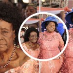 Here Is Mama Esther's 102-year-old mother who gave birth to her when she was 50 years (Photos)