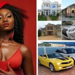 Wendy Shay shows off her mansion and cars