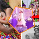 Checkout The Powerful Sarkodie and Tracy 'Helicopter' Wedding Cake (+ Video)