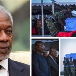 Nana Addo, Bawumia, All Photos as Kofi Annan's remains arrive in Ghana
