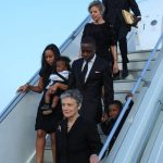 Kofi Annan's wife, family to return to Switzerland tonight