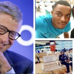 Photo: DJ Switch in USA to perform for Bill Gates