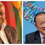 World Bank boss endorses former Ghana President John Dramani Mahama's leadership.