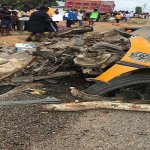 Four Feared Dead In Gory Accident Near Nsawam